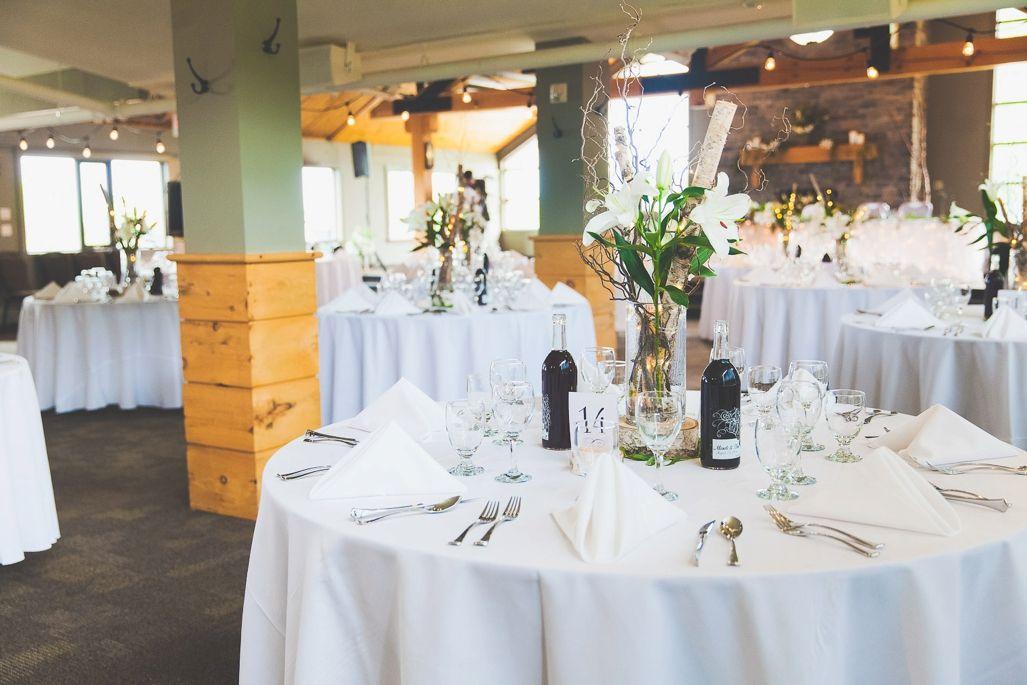 amazing toronto ski club wedding reception