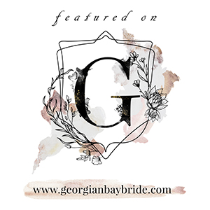 Featured on Georgian Bay Bride